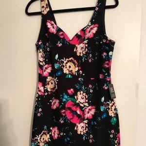 floral mini dress Express NWT M